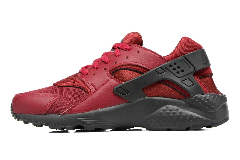 Trainers Nike Nike Huarache Run (Gs) Burgundy front view