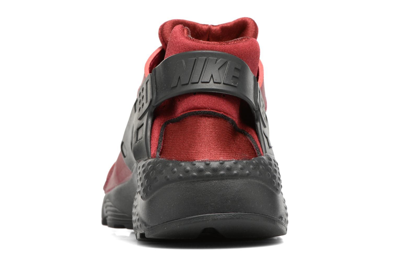 Deportivas Nike Nike Huarache Run (Gs) Vino vista lateral derecha