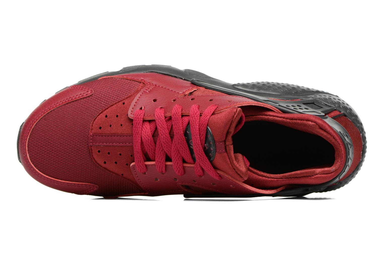 Deportivas Nike Nike Huarache Run (Gs) Vino vista lateral izquierda