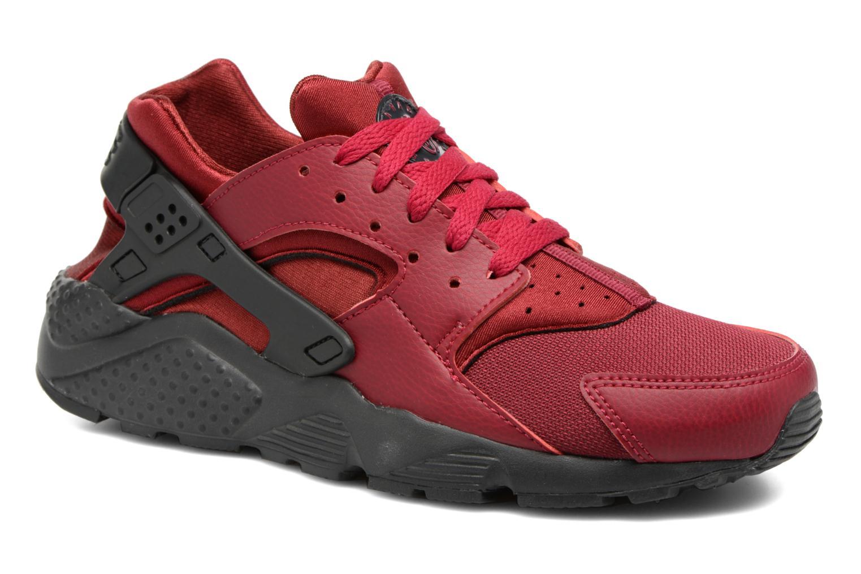 Trainers Nike Nike Huarache Run (Gs) Burgundy detailed view/ Pair view