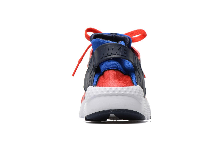 Sneakers Nike Nike Huarache Run Print (Gs) Röd Bild från höger sidan