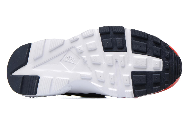Sneakers Nike Nike Huarache Run Print (Gs) Röd bild från ovan
