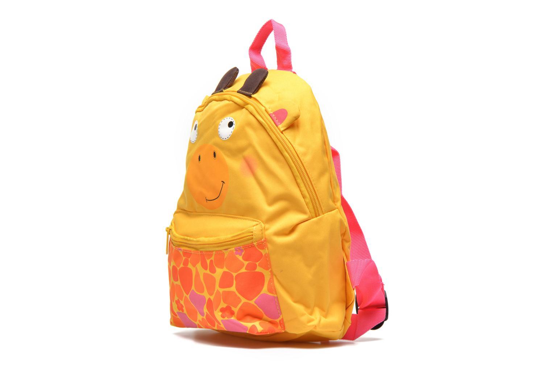 Schulzubehör Kid's Sac à dos Girafe gelb schuhe getragen