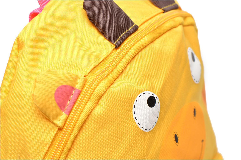Schulzubehör Kid's Sac à dos Girafe gelb ansicht von links