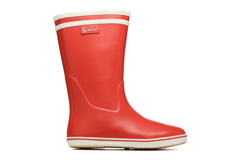 Bottines et boots Aigle Malouine BT Rouge vue derrière