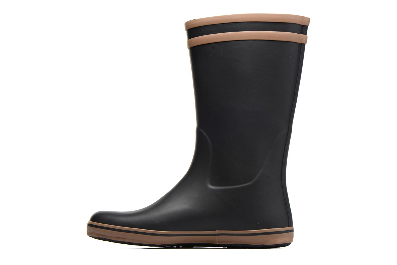 Bottines et boots Aigle Malouine BT Noir vue face