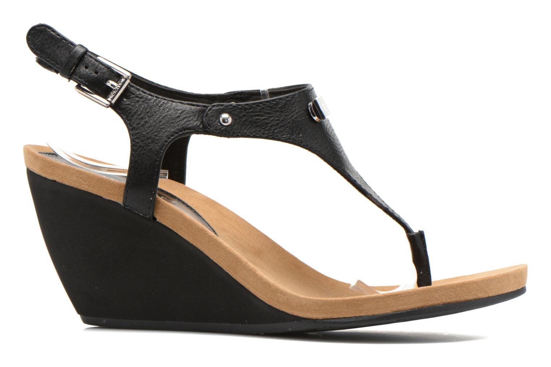 Sandales et nu-pieds Lauren by Ralph Lauren Ralla Noir vue derrière