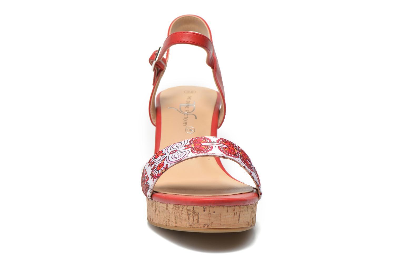 Sandales et nu-pieds Divine Factory Alexina Multicolore vue portées chaussures