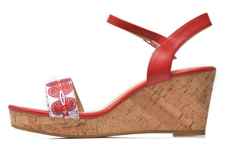 Sandales et nu-pieds Divine Factory Alexina Multicolore vue face