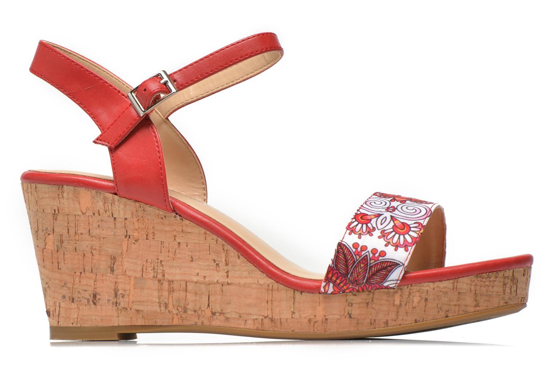 Sandales et nu-pieds Divine Factory Alexina Multicolore vue derrière