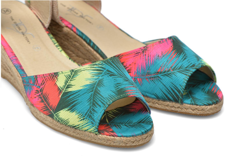 Sandales et nu-pieds Divine Factory Rosanna Multicolore vue 3/4