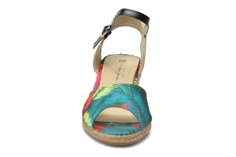 Sandali e scarpe aperte Divine Factory Rosanna Multicolore modello indossato