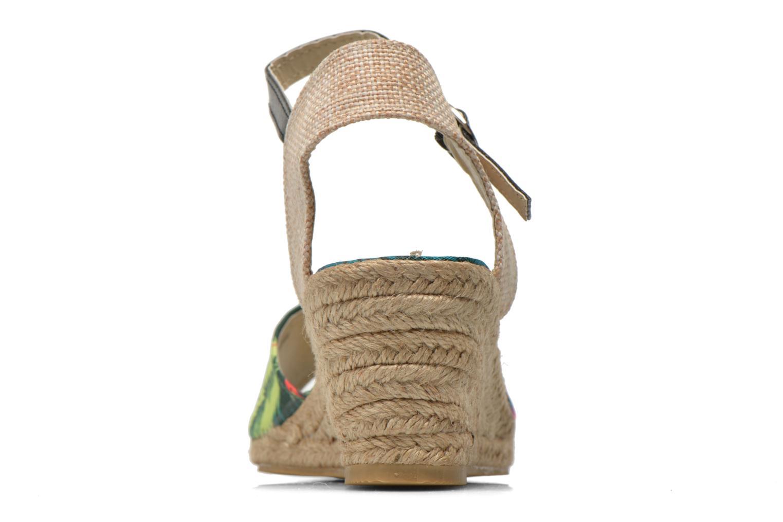 Sandales et nu-pieds Divine Factory Rosanna Multicolore vue droite