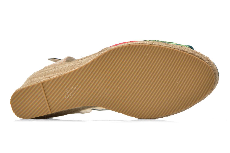 Sandales et nu-pieds Divine Factory Rosanna Multicolore vue haut