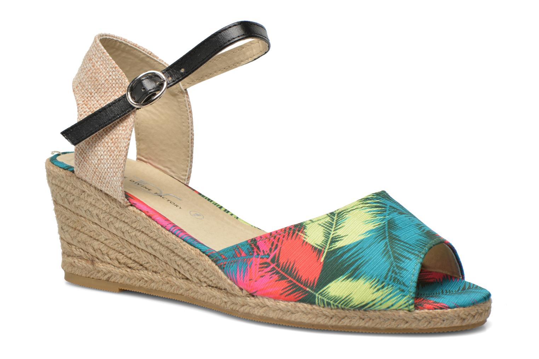 Sandales et nu-pieds Divine Factory Rosanna Multicolore vue détail/paire