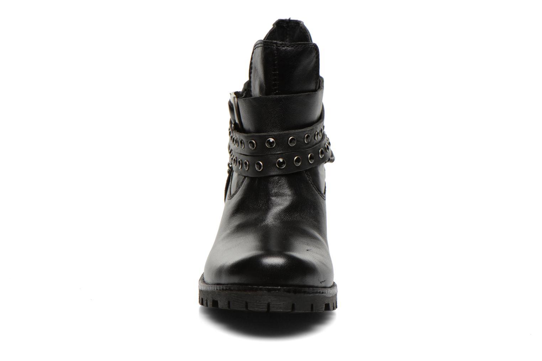 Bottines et boots Les Tropéziennes par M Belarbi Letos Noir vue portées chaussures