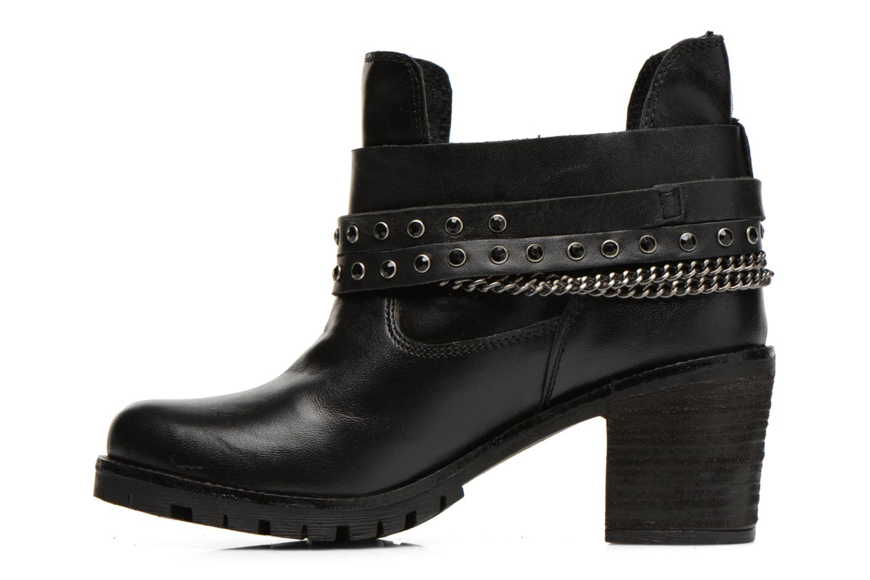 Bottines et boots Les Tropéziennes par M Belarbi Letos Noir vue face