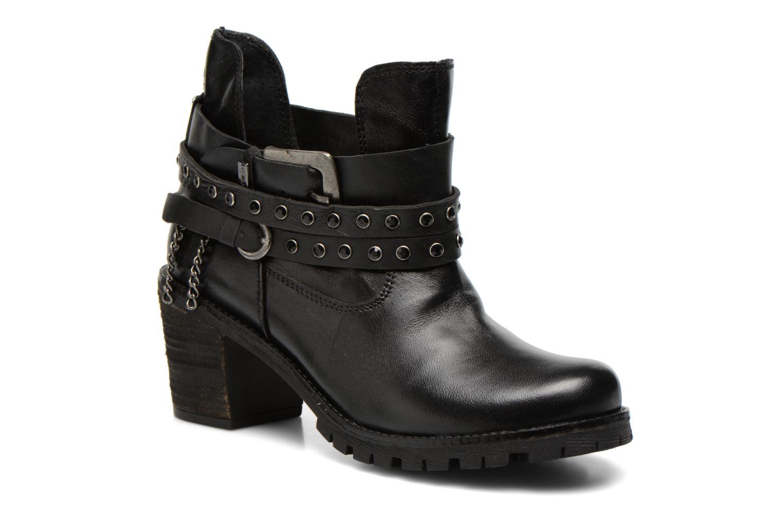 Bottines et boots Les Tropéziennes par M Belarbi Letos Noir vue détail/paire
