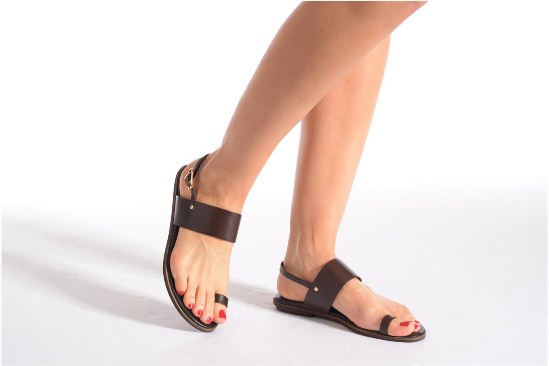 Sandales et nu-pieds Vagabond Shoemakers NATALIA 4108-201 Marron vue bas / vue portée sac