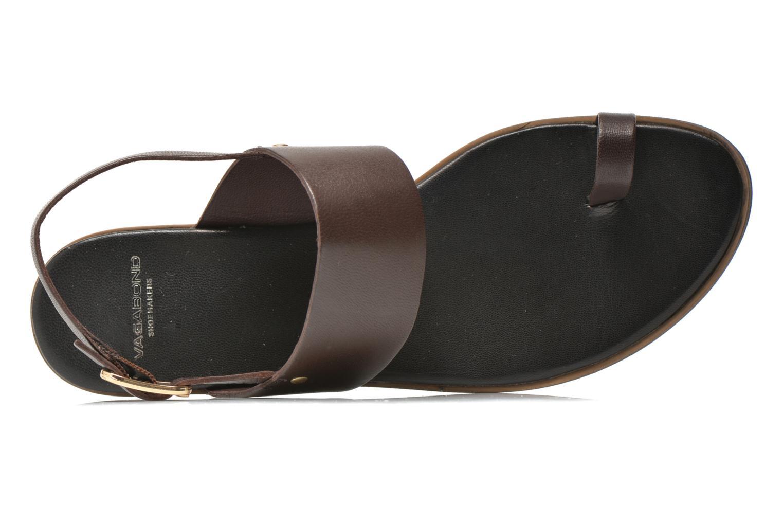 Sandales et nu-pieds Vagabond Shoemakers NATALIA 4108-201 Marron vue gauche