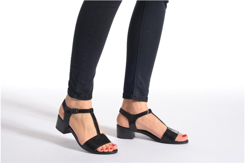 Sandales et nu-pieds Vagabond GAIA 4135-108 Noir vue bas / vue portée sac