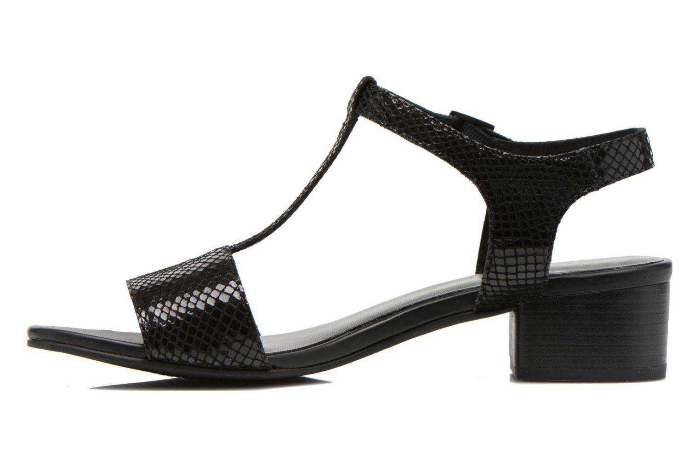 Sandales et nu-pieds Vagabond GAIA 4135-108 Noir vue face