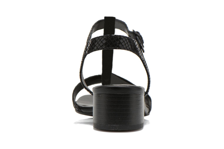 Sandales et nu-pieds Vagabond Shoemakers GAIA 4135-108 Noir vue droite