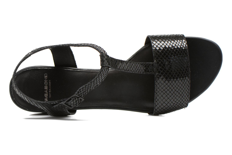 Sandales et nu-pieds Vagabond Shoemakers GAIA 4135-108 Noir vue gauche