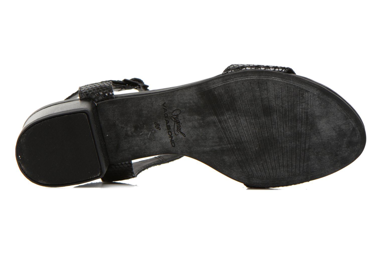 Sandales et nu-pieds Vagabond Shoemakers GAIA 4135-108 Noir vue haut