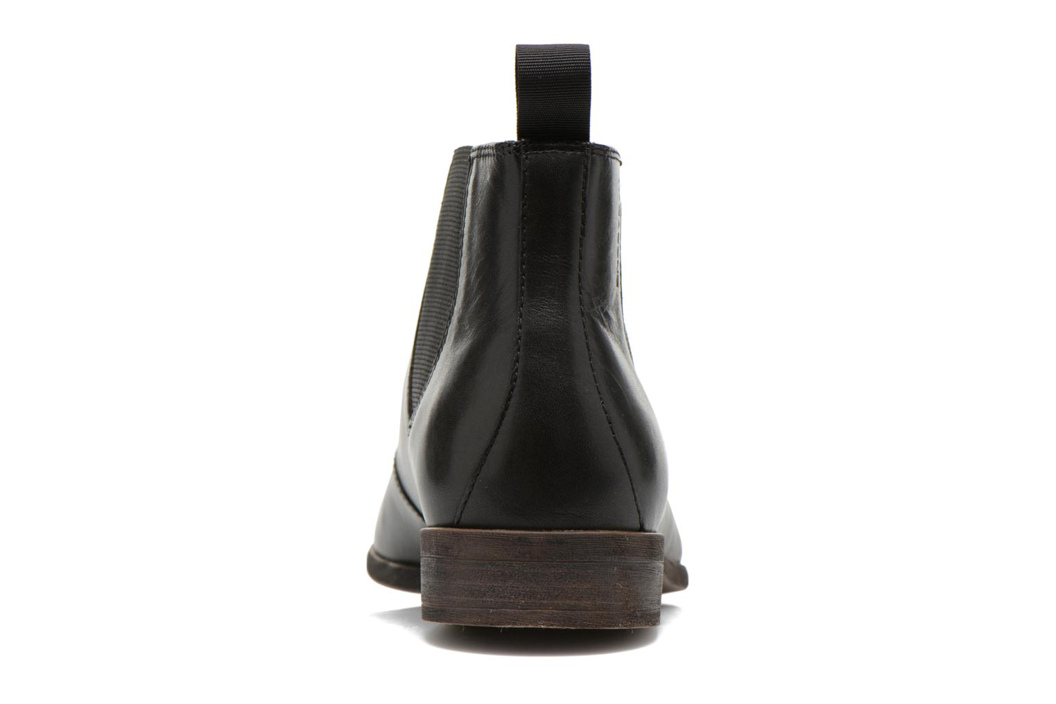 Ankle boots Vagabond HUSTLE 4163-001 Black view from the right