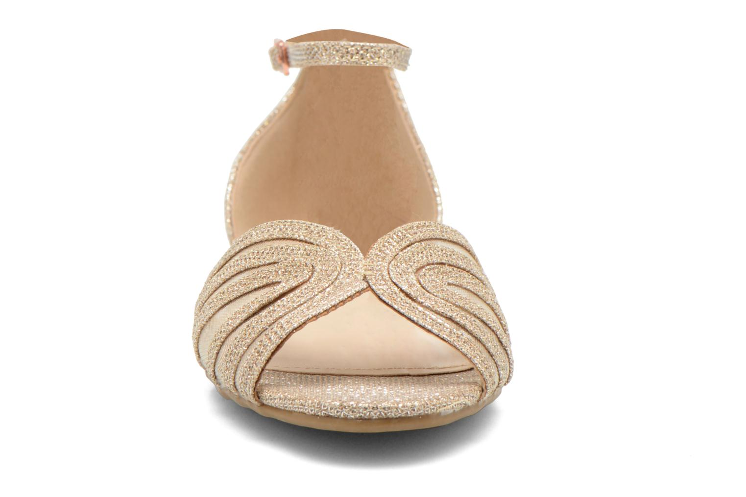 Sandals I Love Shoes Kivipa Bronze and Gold model view