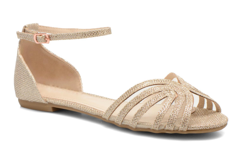 Sandales et nu-pieds I Love Shoes Kivipa Or et bronze vue détail/paire