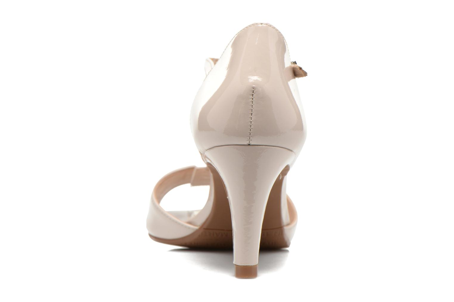 Sandals JB MARTIN Eclair Beige view from the right