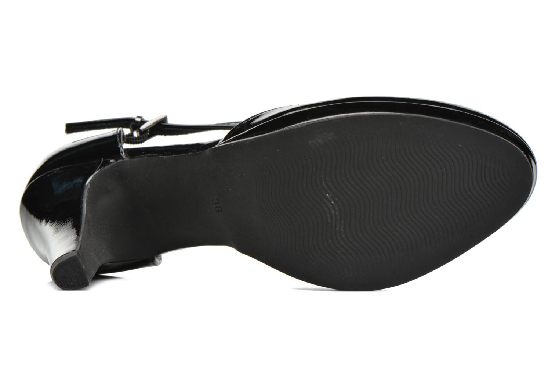 Zapatos de tacón Marco Tozzi Talia Negro vista de arriba
