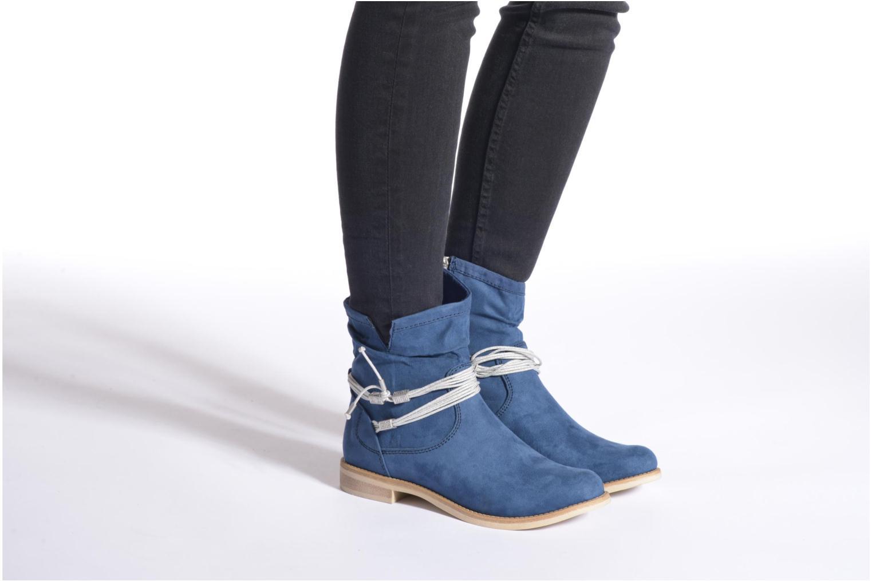 Bottines et boots Marco Tozzi Chloey 2 Bleu vue bas / vue portée sac