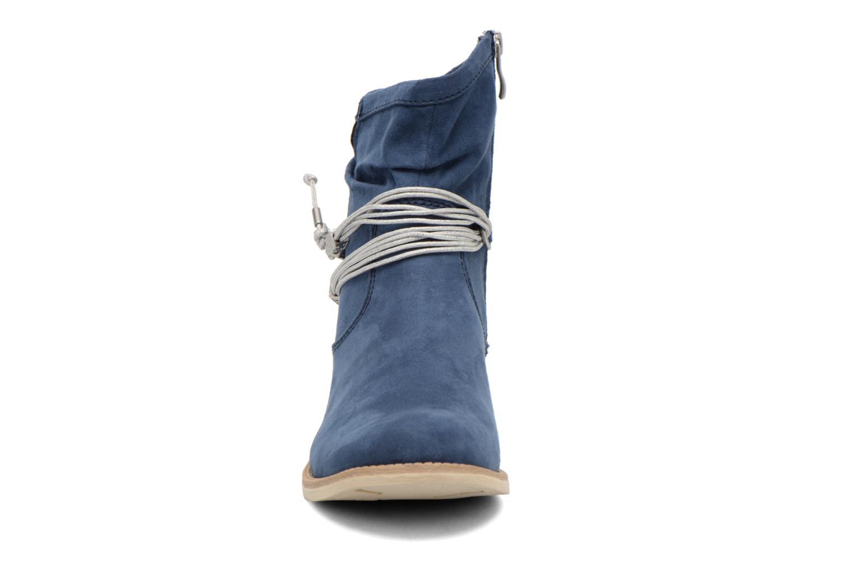Bottines et boots Marco Tozzi Chloey 2 Bleu vue portées chaussures