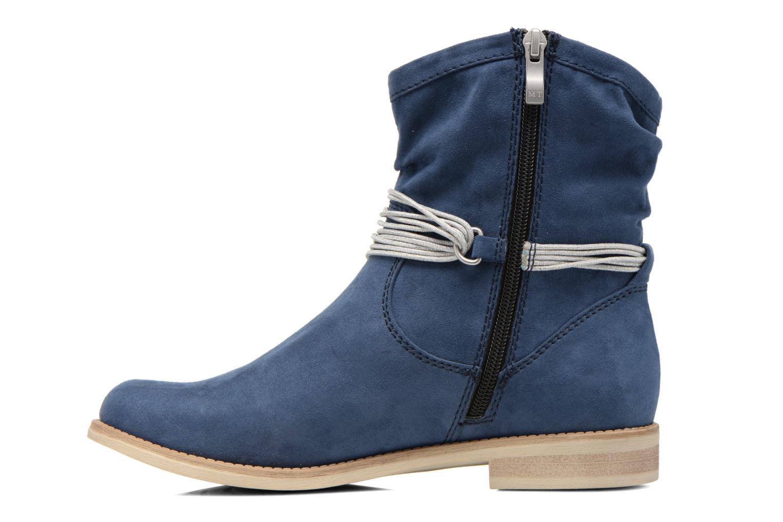Bottines et boots Marco Tozzi Chloey 2 Bleu vue face