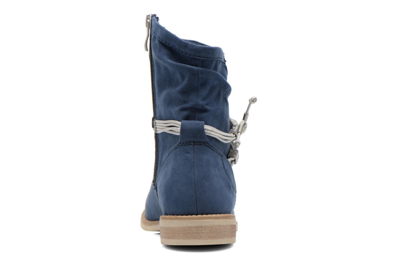 Ankelstøvler Marco Tozzi Chloey 2 Blå Se fra højre