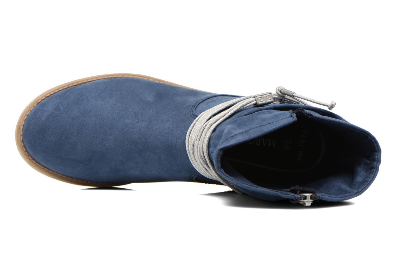 Bottines et boots Marco Tozzi Chloey 2 Bleu vue gauche