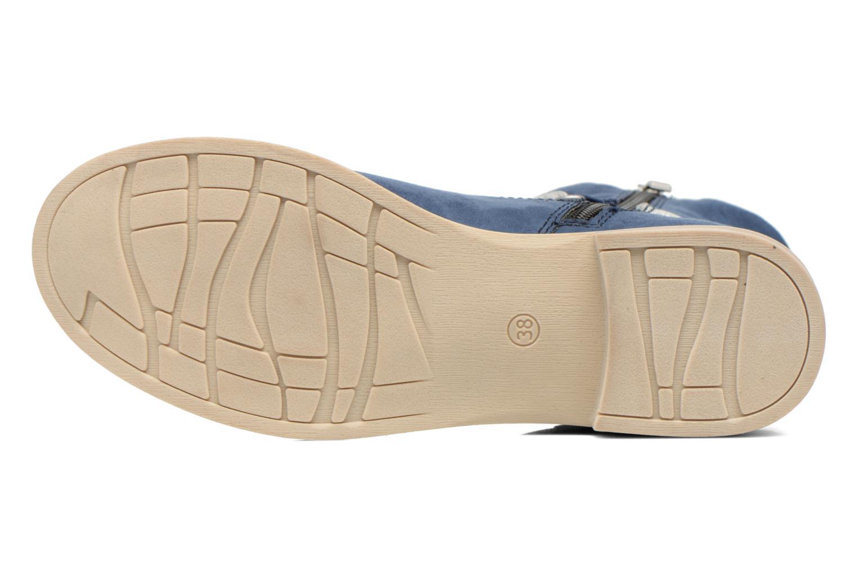 Bottines et boots Marco Tozzi Chloey 2 Bleu vue haut