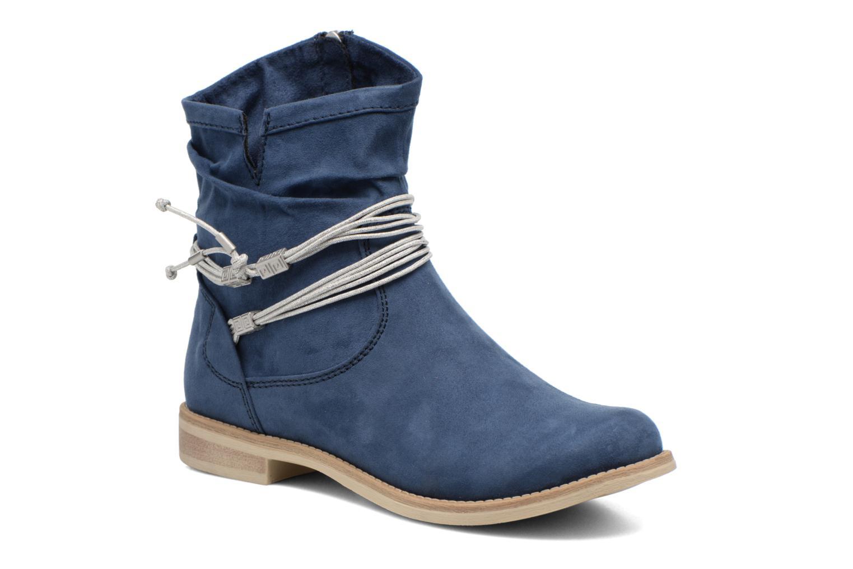 Ankelstøvler Marco Tozzi Chloey 2 Blå detaljeret billede af skoene