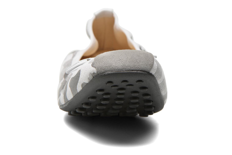 Ballerines Elizabeth Stuart Lacq 980 Gris vue portées chaussures