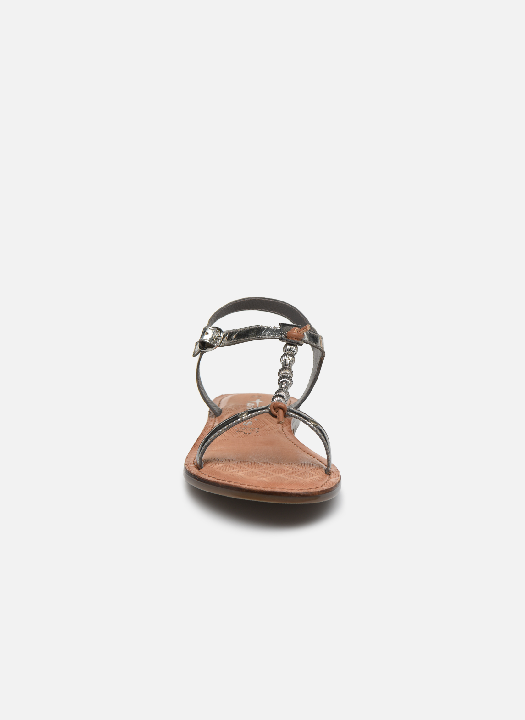Sandales et nu-pieds Tamaris Famala Argent vue portées chaussures