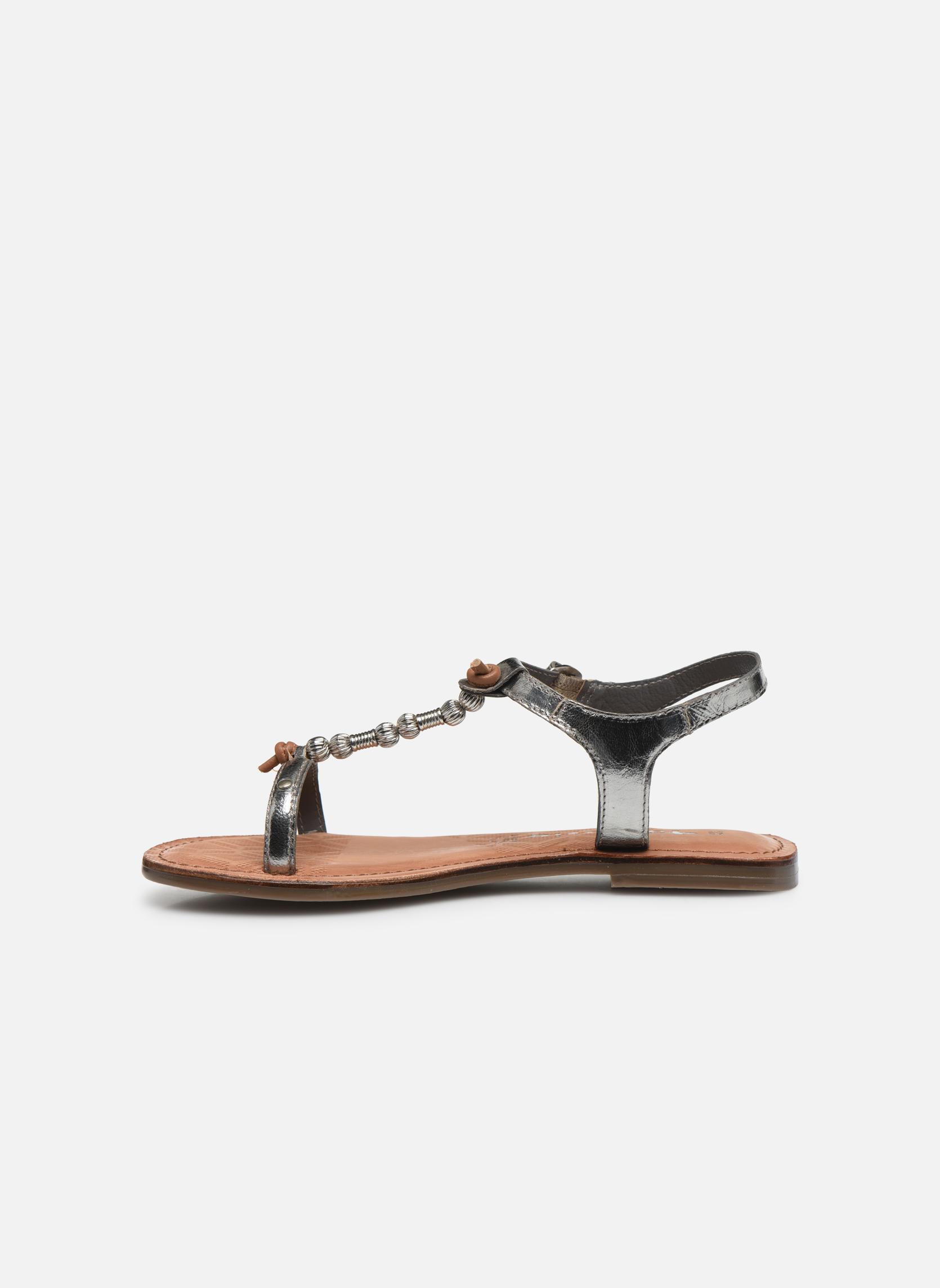 Sandales et nu-pieds Tamaris Famala Argent vue face