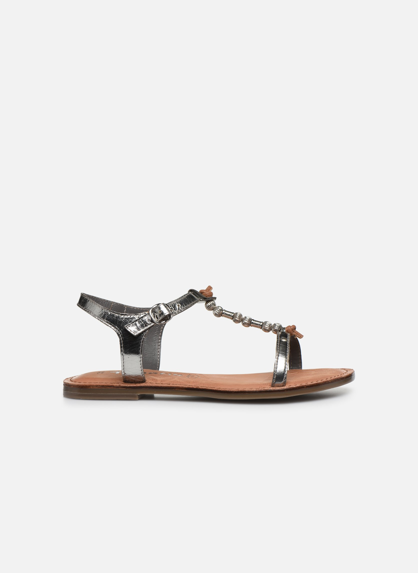 Sandales et nu-pieds Tamaris Famala Argent vue derrière
