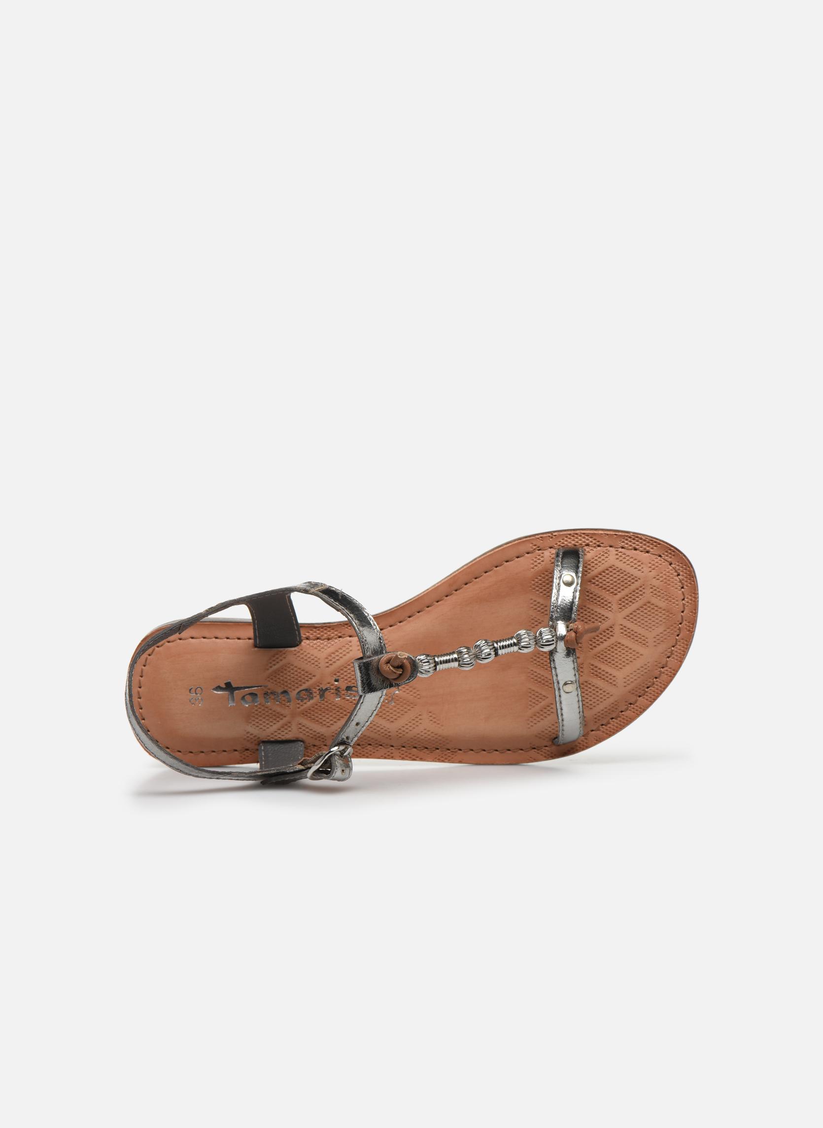 Sandales et nu-pieds Tamaris Famala Argent vue gauche