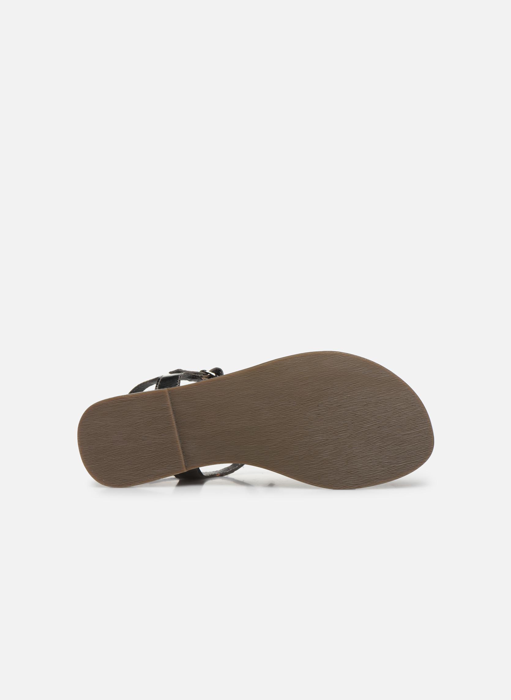 Sandales et nu-pieds Tamaris Famala Argent vue haut