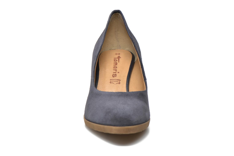 Escarpins Tamaris Koreka Bleu vue portées chaussures