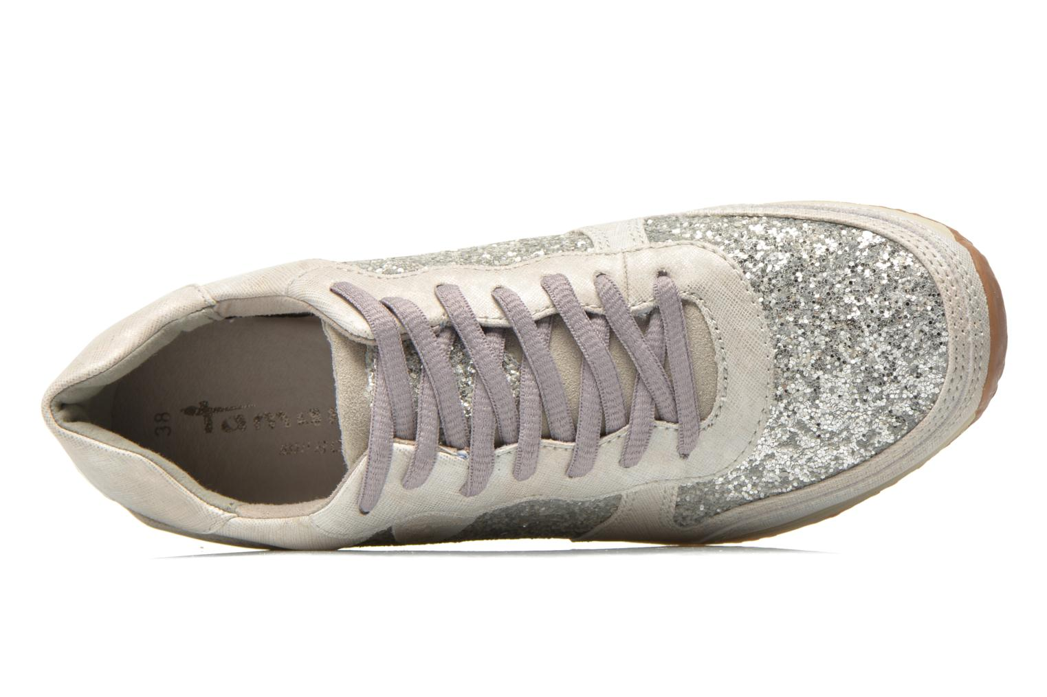 Trainers Tamaris Bifina Silver view from the left