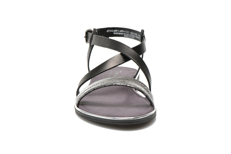 Sandales et nu-pieds Tamaris Lucinda Noir vue portées chaussures